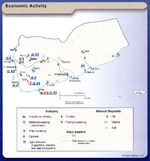 Yemen Economic Activity Map