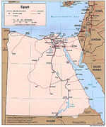Egypt Political Map