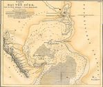 Suez Bay Map, Egypt 1856