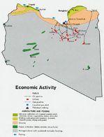 Libya Economic Activity Map