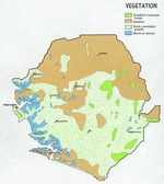 Sierra Leone Vegetation Map