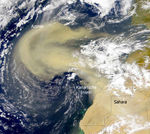 Saharan Air Layer over Canary Islands 2000
