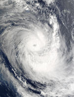 Tropical Cyclone Ami (10P) over Fiji Islands, Pacific Ocean