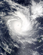 Tropical Cyclone Zoe (06P) northeast of Vanuatu, South Pacific Ocean