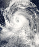 Typhoon Tingting (11W) over the Northern Mariana Islands