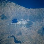 Satellite Image, Photo of San Salvador, El Salvador
