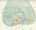 Anegada Map (British Virgin Islands) 1832