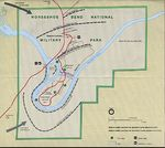 Horseshoe Bend National Military Park Map, Alabama, United States