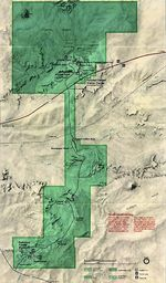 Srinagar Border Region Tactical Pilotage Chart, Pakistan