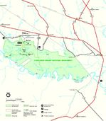 Battlefield Tour Map, Vicksburg National Military Park, Mississippi, United States
