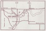 Location Map of Fort Union Trading Post National Historic Site, North Dakota, United States