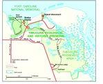 Bahía de Cádiz Natural Park limits 2009