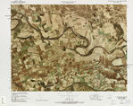 Map of the Battles of Blenheim and Ramillies 1704 - 1706