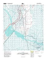 Des Allemands, Topographic Map Prototype, Louisiana, United States, September 12, 2005