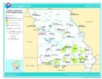 Missouri Federal Lands and Indian Reservations Map, United States