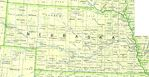 Nebraska State Map, United States