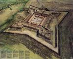 Schematic Map of Fort Stanwix National Monument, New York, United States