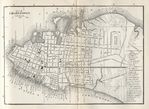 Charleston City Map, South Carolina, United States 1885