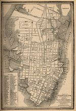 Charleston City Map, South Carolina, United States 1877