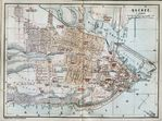 Quebec City Map, Canada 1894