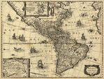 Mapa de Amrica circa 1640