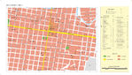 Salt Lake City Business District Map, Utah, United States 1920