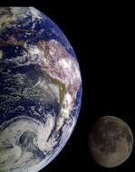 Earth and Moon