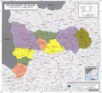 Mapa de Relieve Sombreado de Lesoto