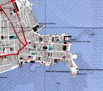 Casco Viejo Map, Panama City