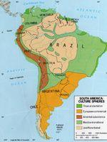 Esferas culturales en Am�rica del Sur