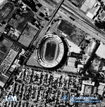 Aerial Photo of Club Atlético River Plate Stadium, Buenos Aires, Argentina