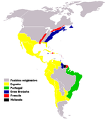 Colonias europeas en Amrica siglos XVI-XVII