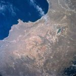 Satellite Image, Photo of Alagoas State, Brazil