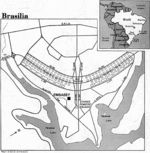 Brasilia City Map, Brazil