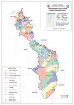 Mapa Relieve Sombreado de América del Sur