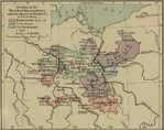 Map of the Decline of the March of Brandenburg Under the Houses of Wittelsbach and Luxembourg, 1320-1415