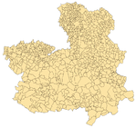 Municipalities of Castille-La Mancha 2003