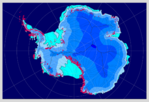 Antarctic ice sheet (interglacial period)