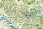 Sevilla City Map, Andalucia, Spain