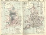 Map of England and Wales in 1832, Industrial England Since 1750
