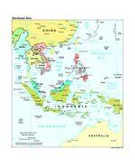 Mapa Politico del Sureste Asiático