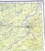 Mapa mudo de la Provincia de Jaén