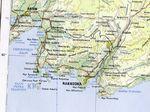 Mapa de la Región de Najodka