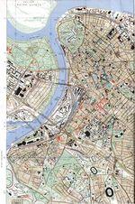 Mapa de la Ciudad de Belgrado (Beograd), Serbia