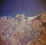 Satellite Image, Photo, Cadiz & Rio Guadalquivir, Spain