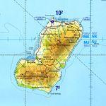 Carta Aeronáutica de Isla de Bioko (Fernyo Poo), Guinea Ecuatorial