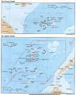 Spratly and Paracel Islands Political Map