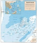Spratly Islands Political Map