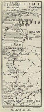 Pensacola City Map, Florida, United States 1919