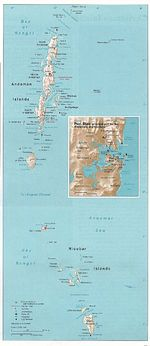 Andaman and Nicobar Islands Map (Union Territory of India)